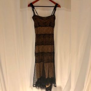 Betsy Johnson Formal Lace Evening Gown